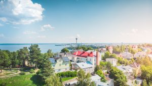 Visit_Tampere_Pispala_summer_drone_view_Laura_Vanzo-2